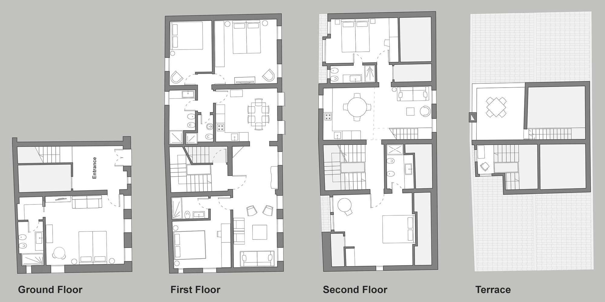 Palazzetto San Trovaso floor plan