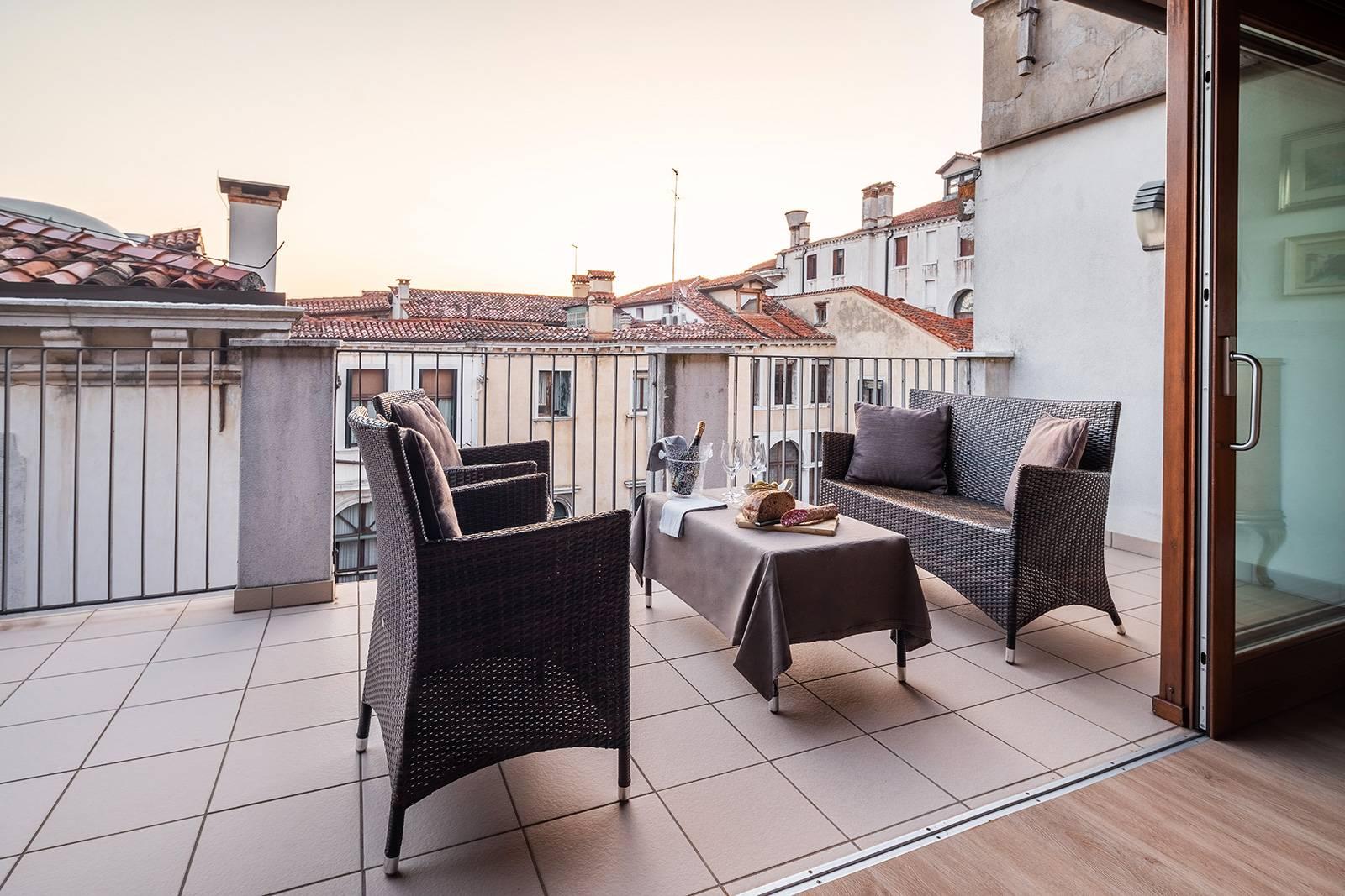 enjoy your breakfast or aperitif on the relaxing terrace