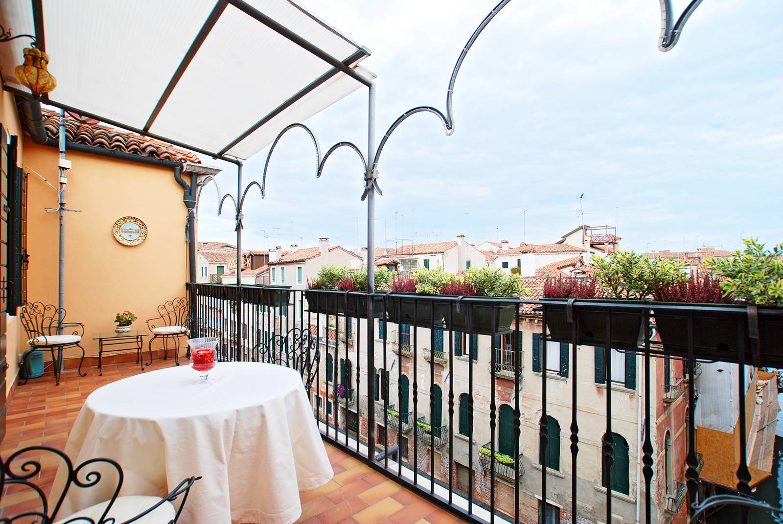 enjoy the view from the panoramic terrace of the San Felice