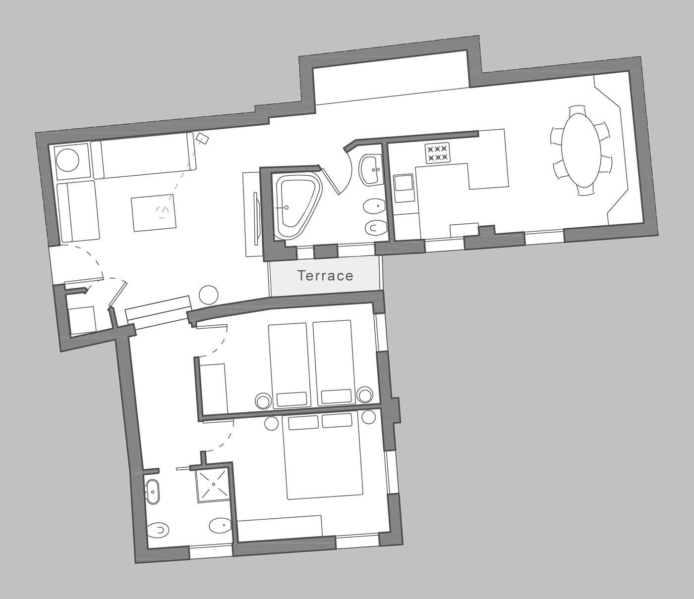 Corte Stupenda floor plan