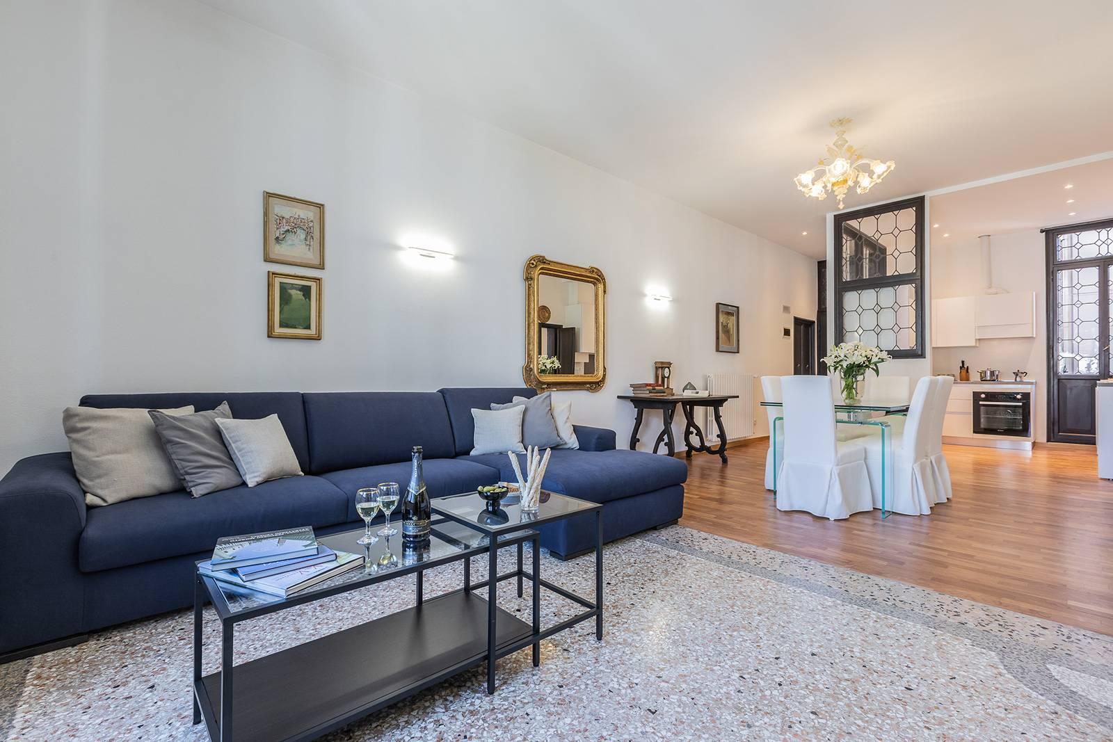 Rigoletto apartment main living room
