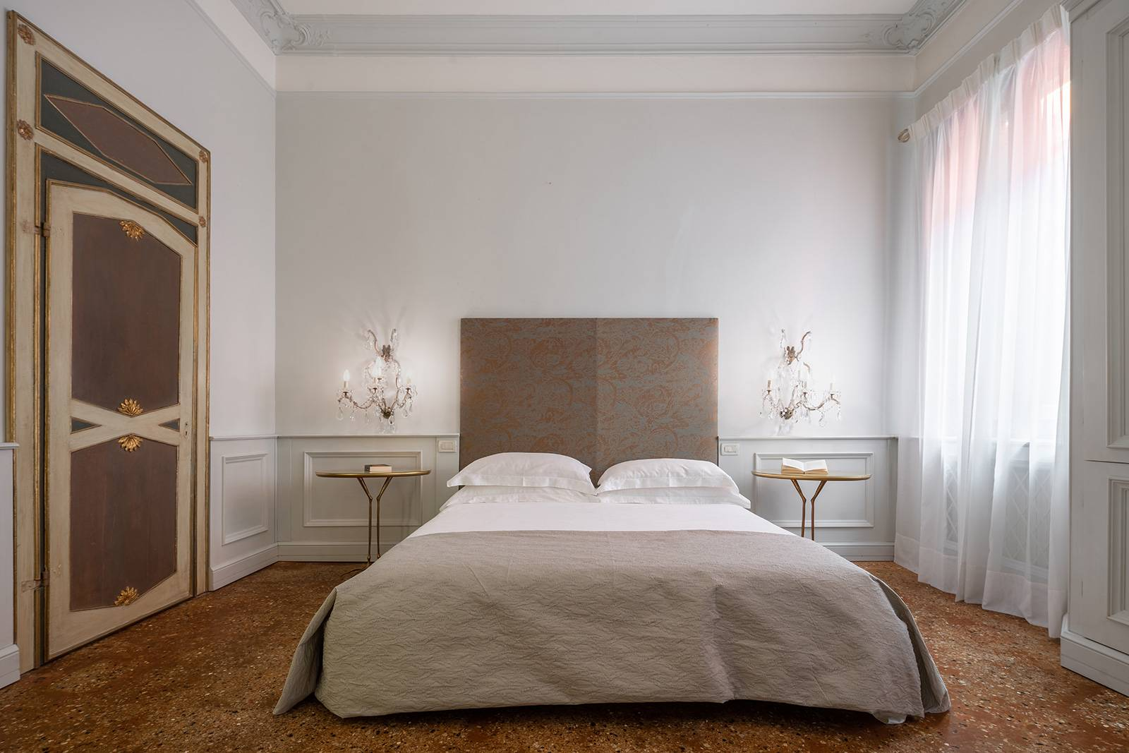 the master bedroom is very spacious and elegant too