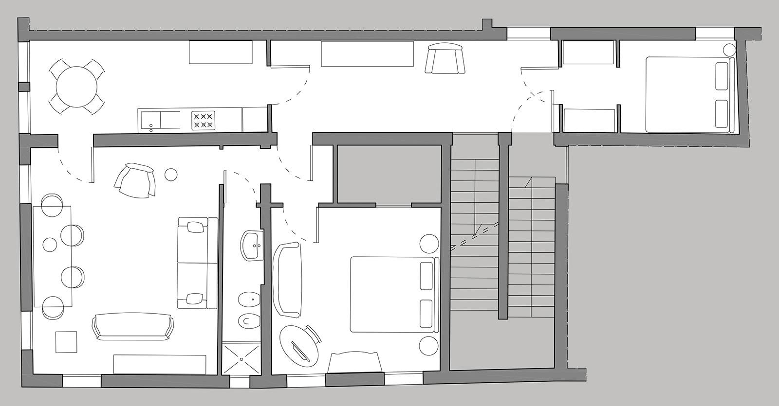 Gritti floor plan