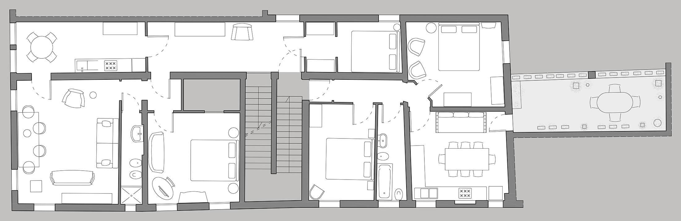 Gritti Premium floor plan