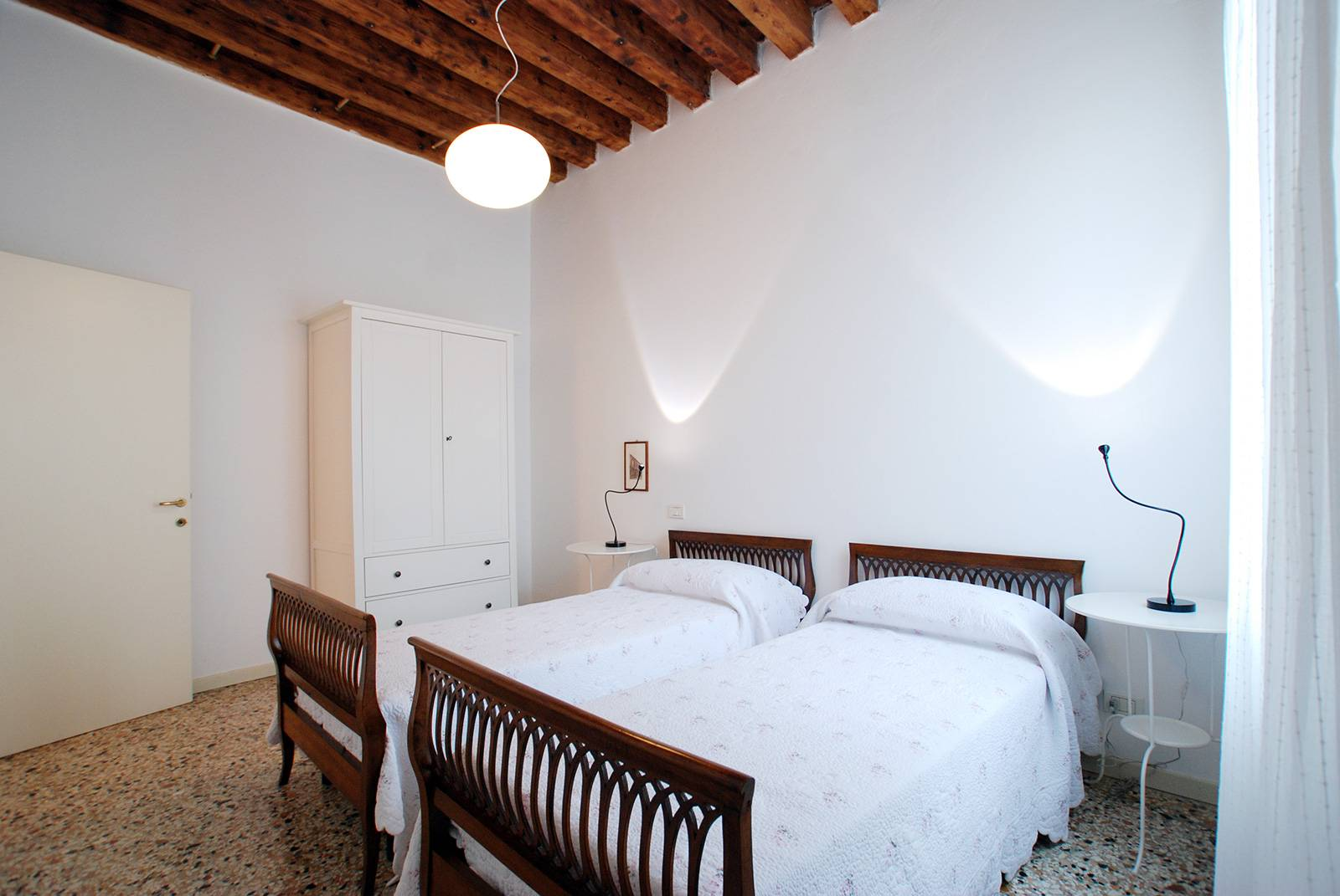 also the second bedroom can be used with separate bed or as a double bed
