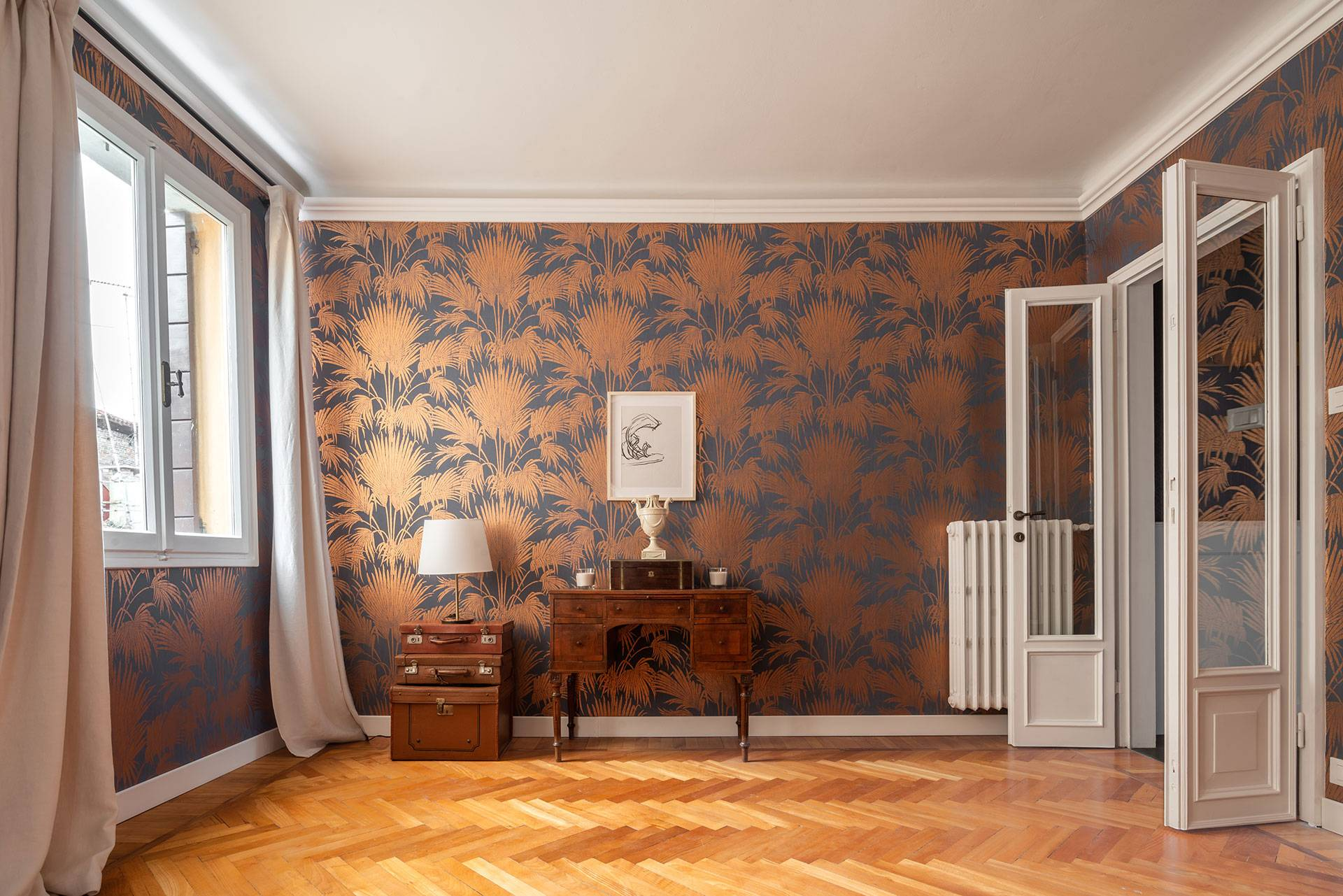 4th floor: single bedroom