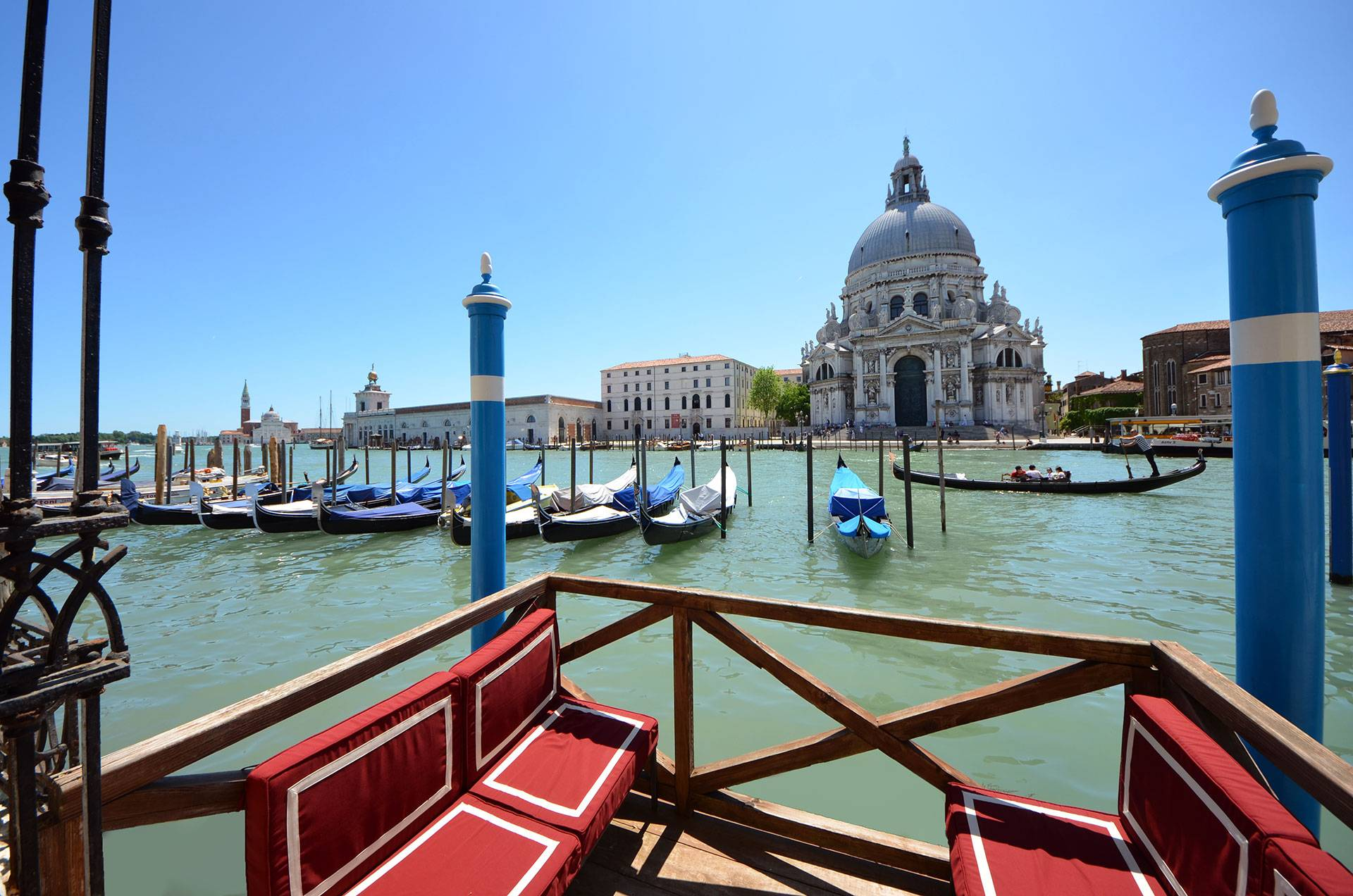 The Private Terrace on the Grand Canal is absolutely unique