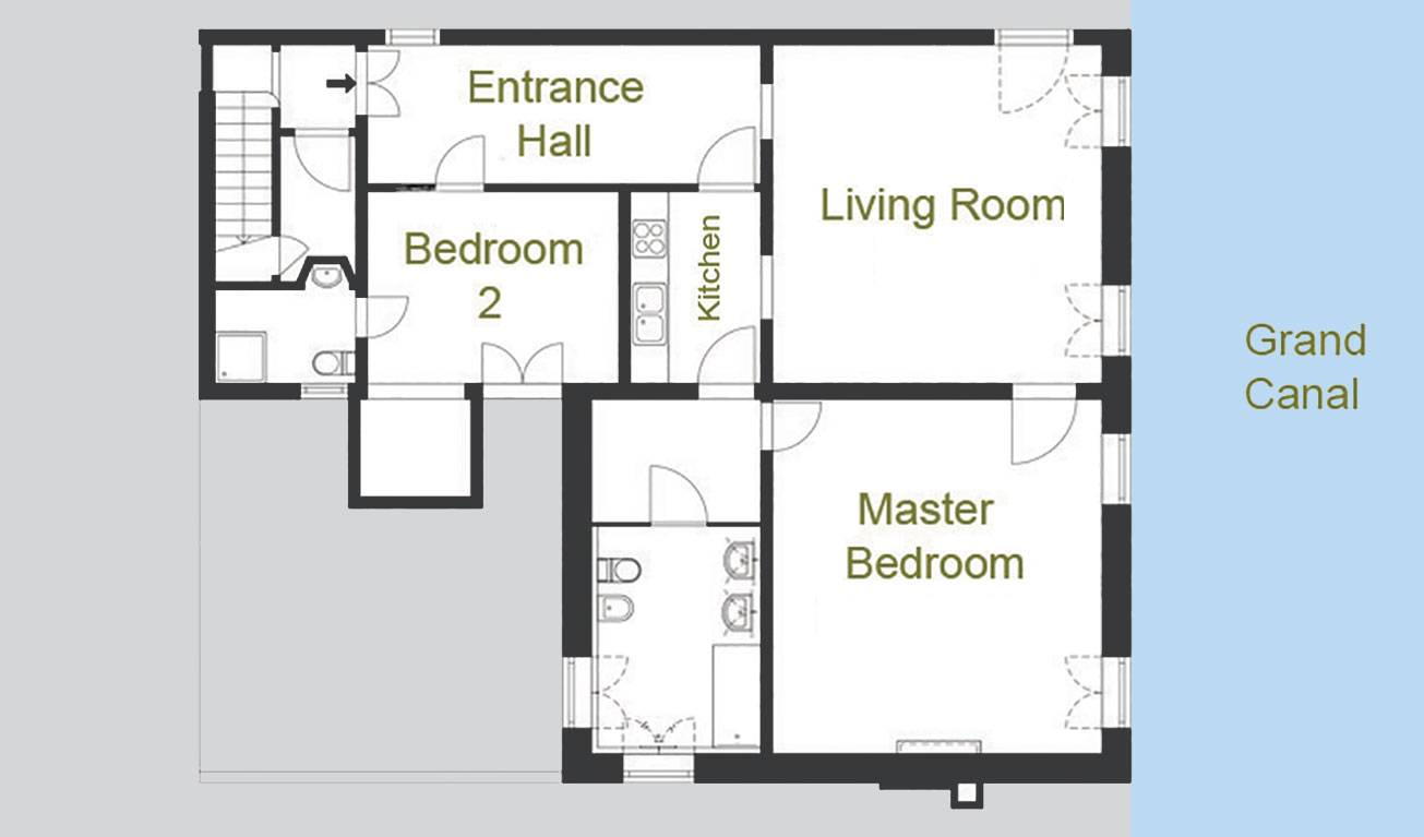 Barozzi Skyline floor plan