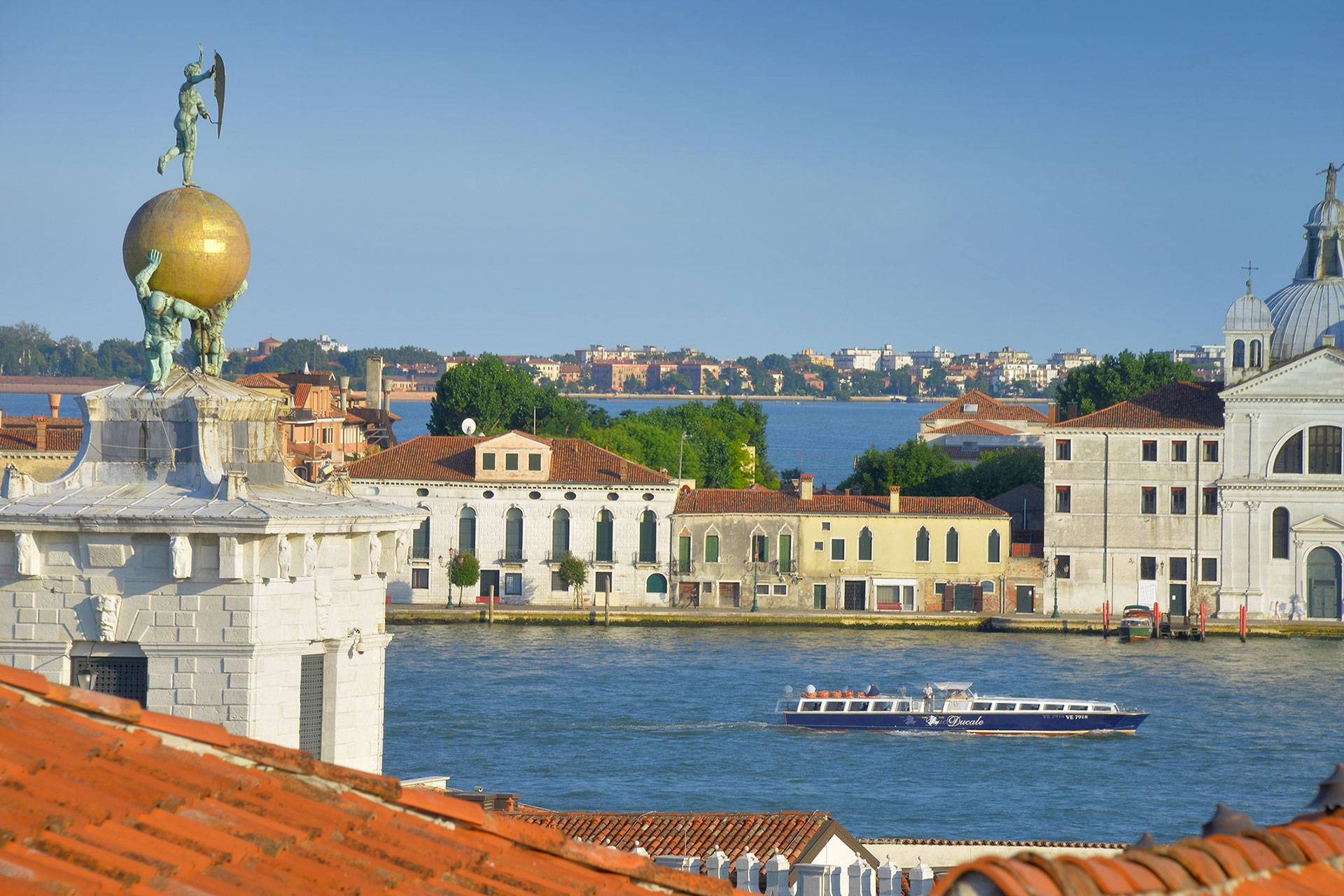 view from the altana on the Giudecca Island